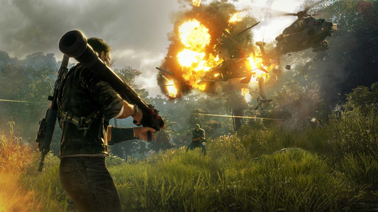 Playstation Plus December 2020 Just Cause 4