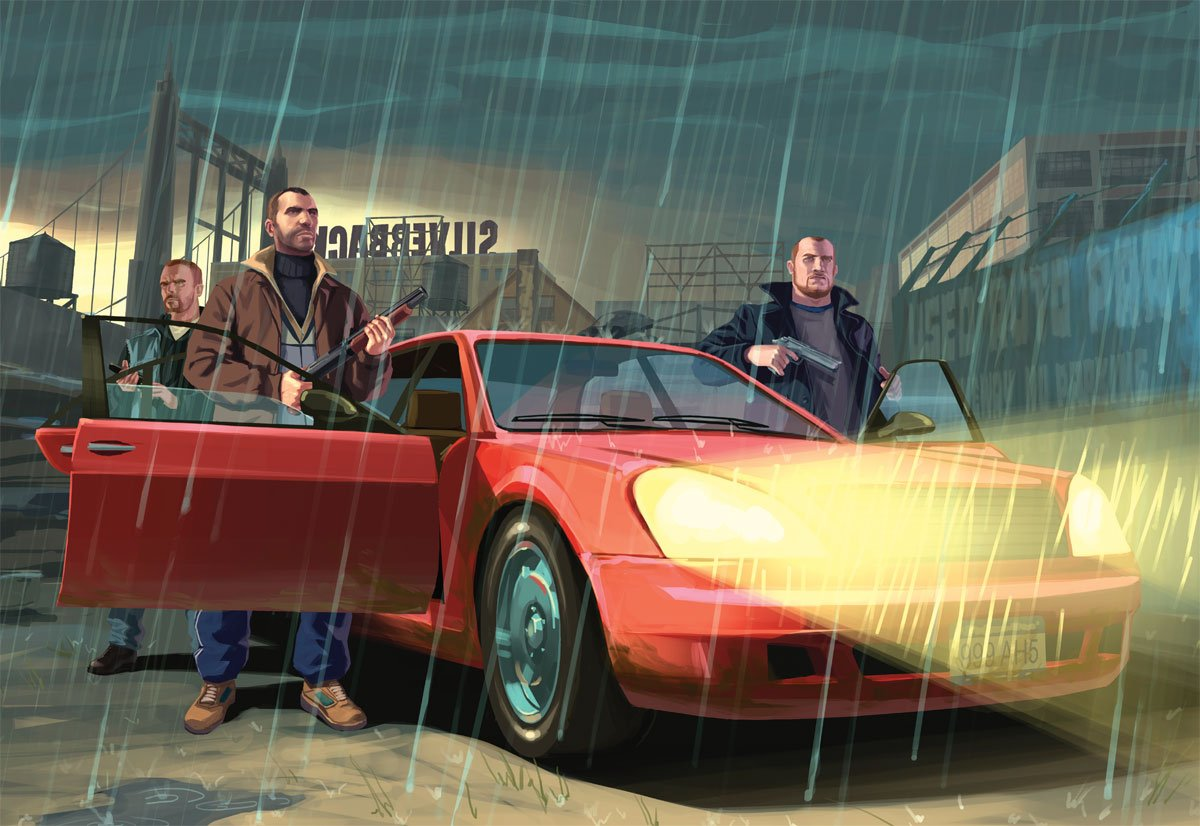 GTA 4 Official Art