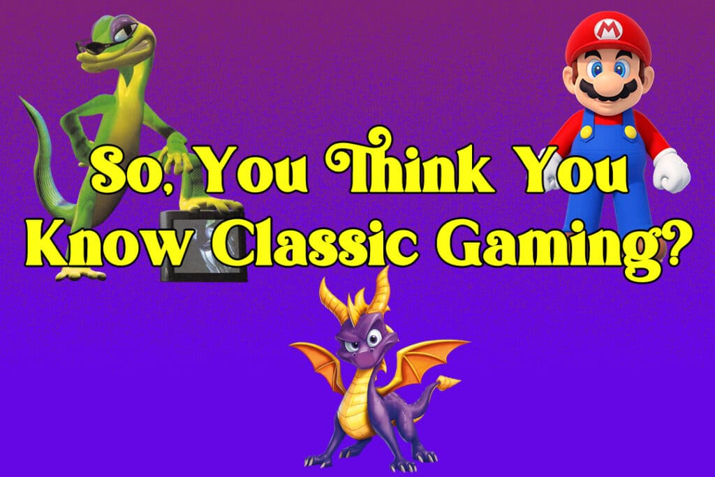 Classic Gaming Quiz