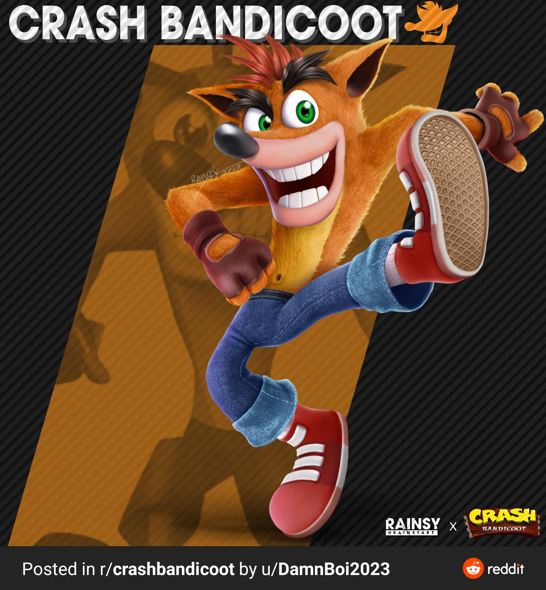 Smash Bros Crash
