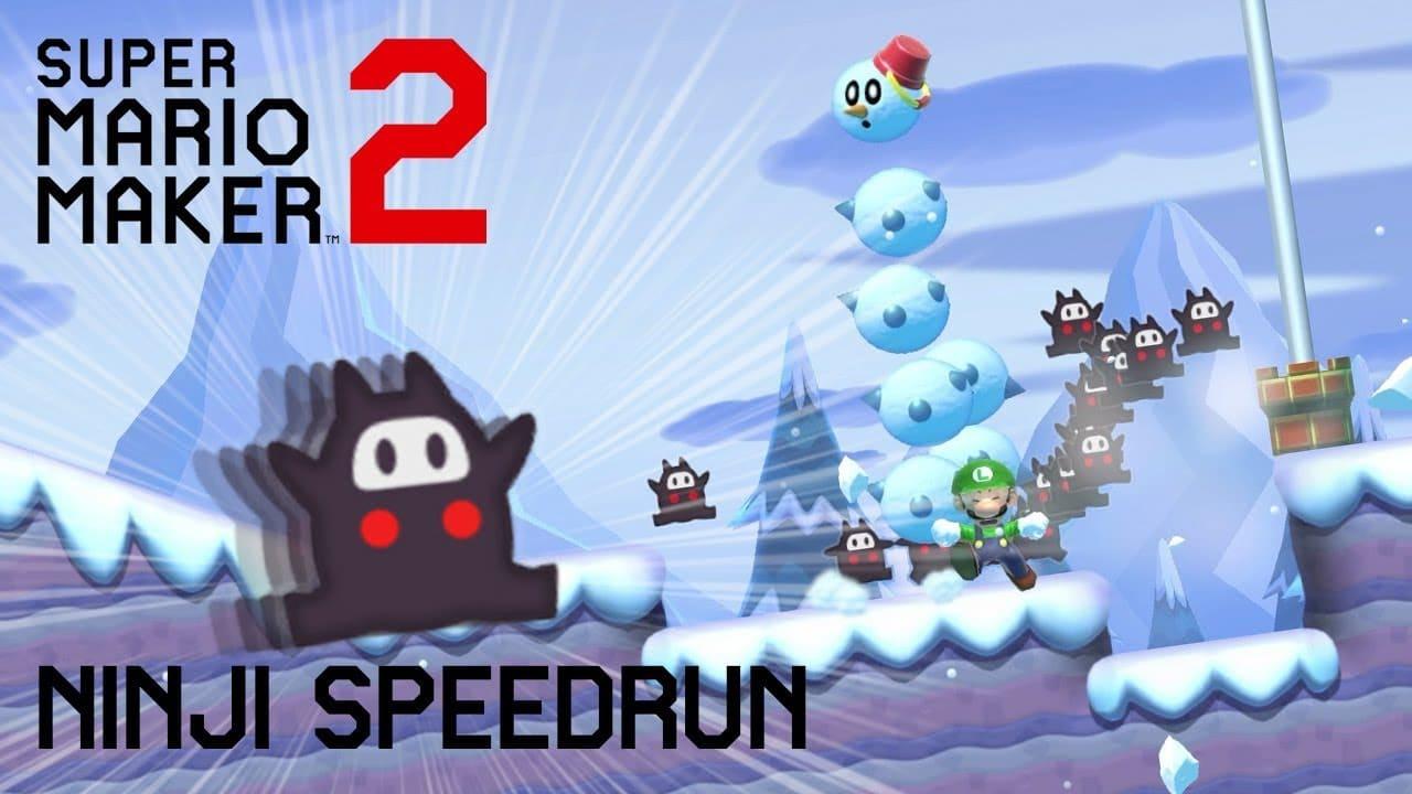 Mario Maker 2 Ending Ninji Speedrun