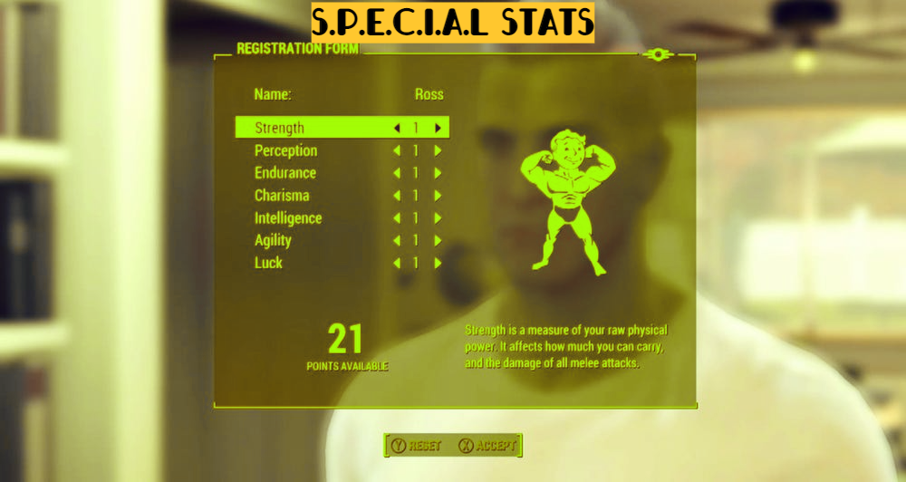 Fallout 4 Best Starting Stats