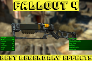 Fallout 4 Legendary Effects