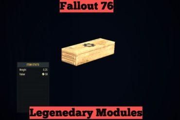 Fallout 76 Legendary Module