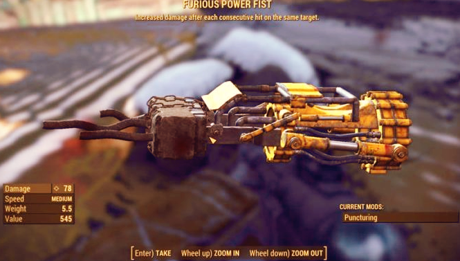 Fallout 4 Legendary Effects