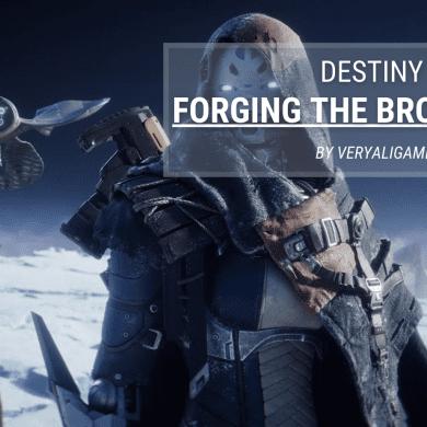 Destiny 2 Forging the Broadsword