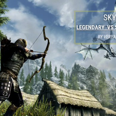Skyrim Legendary Edition vs Special Edition