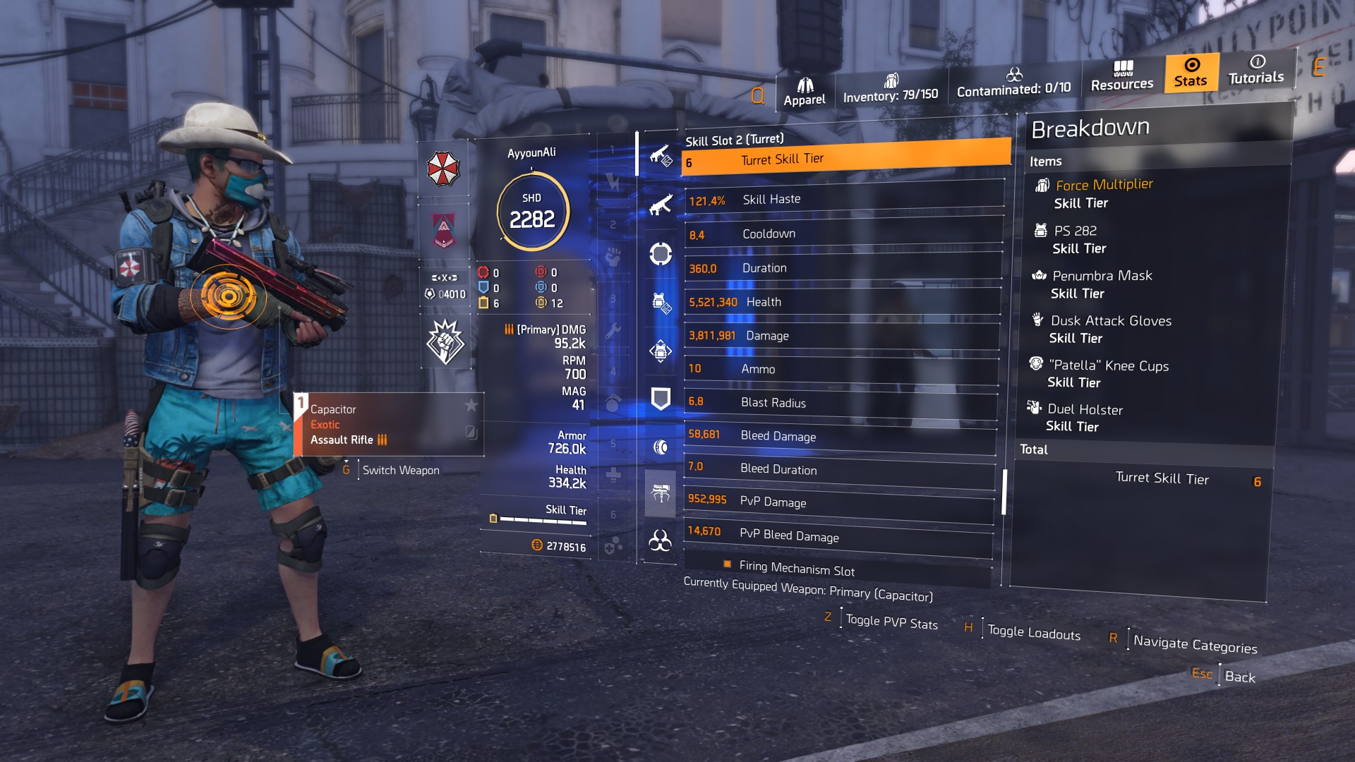 Division 2 DPS Builds