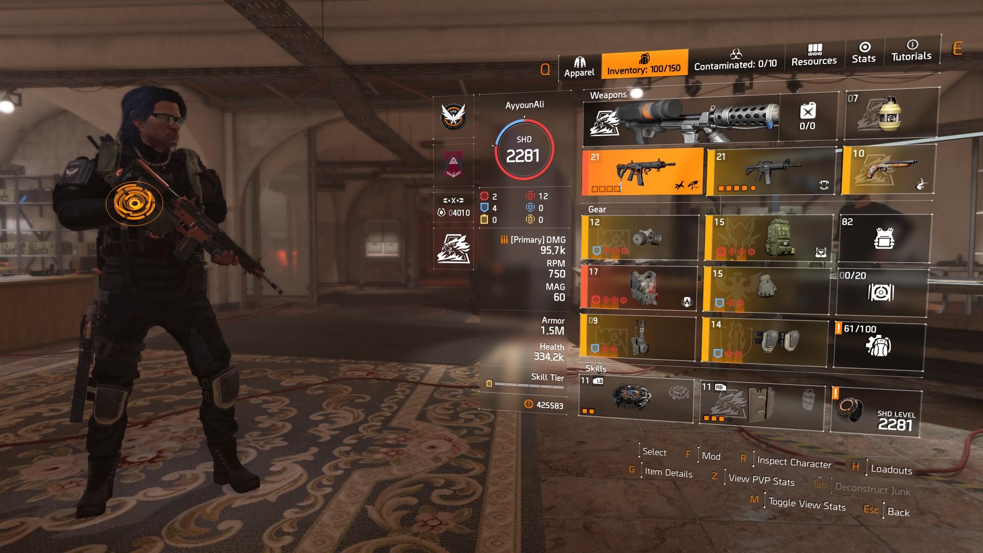 Division 2 Assault Rifle Build