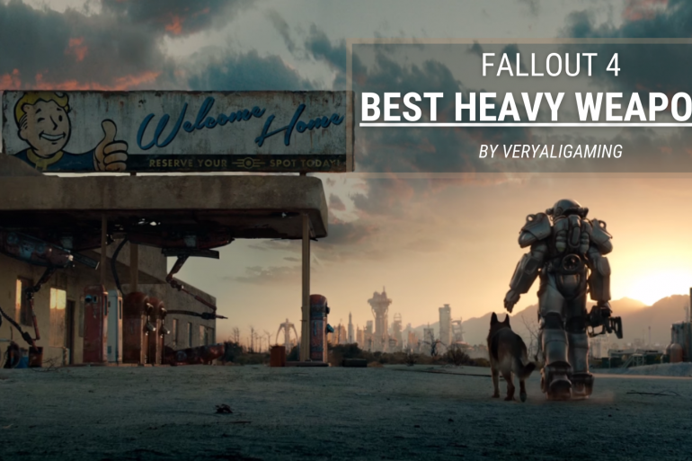 fallout 4 heavy weapons