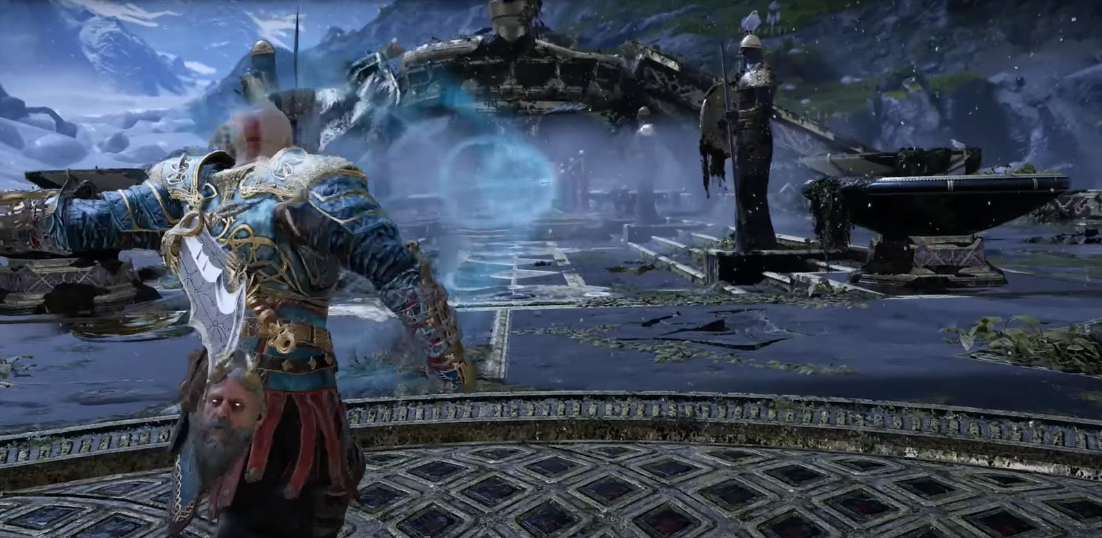 God of War Best Runic Attacks