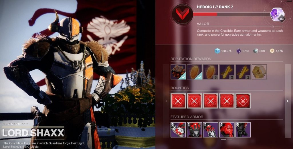 Upgrade Modules as a reward from Lord Shaxx.