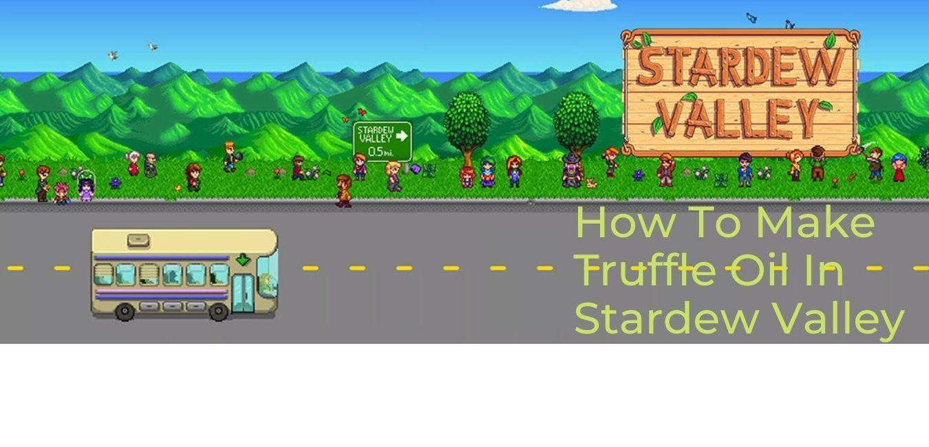 How to make Truffle oil