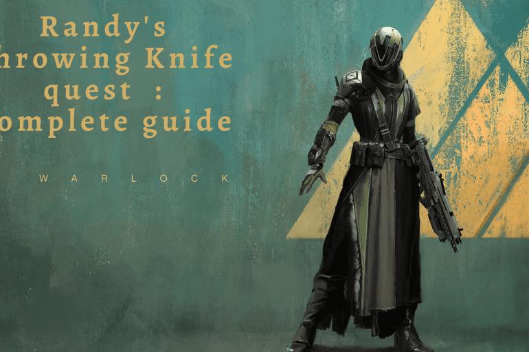 Randy's throwing Knife