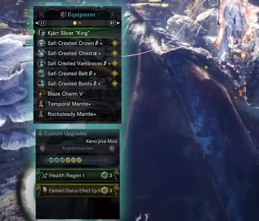 Best Sword and Shield Build MHW