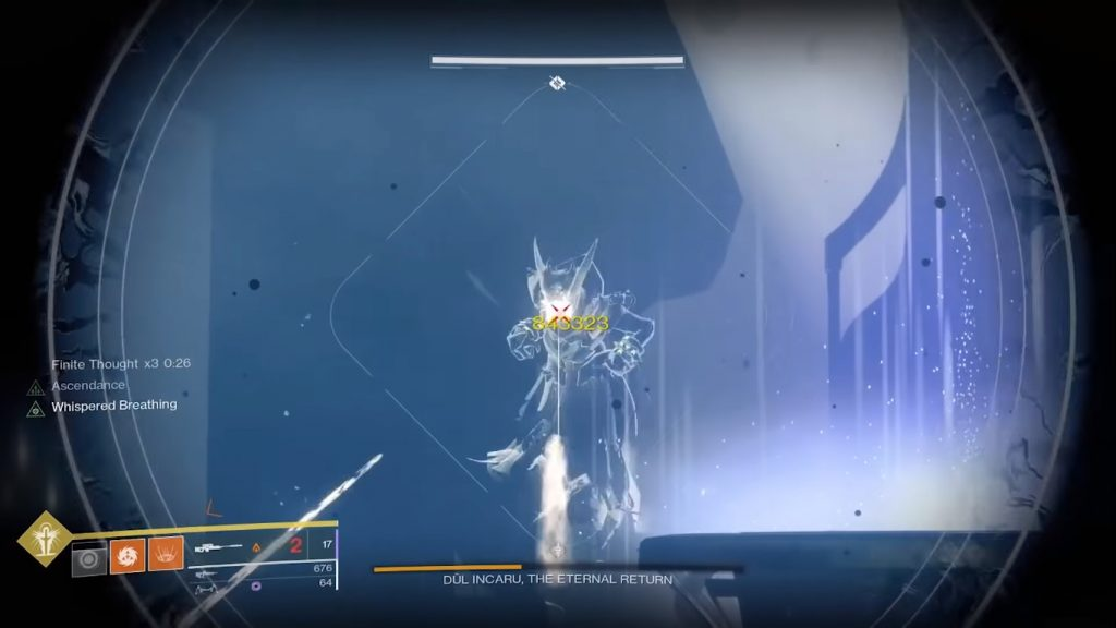 The final boss of Shattered Throne, Dul Incaru.