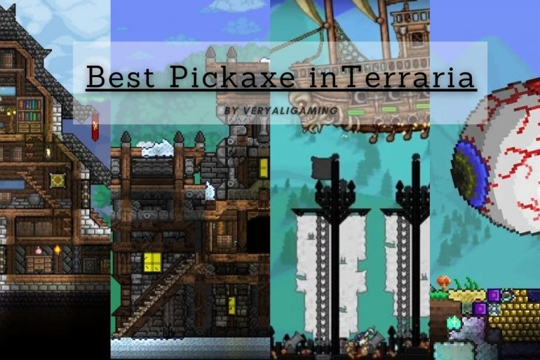 Best Pickaxe in Terraria