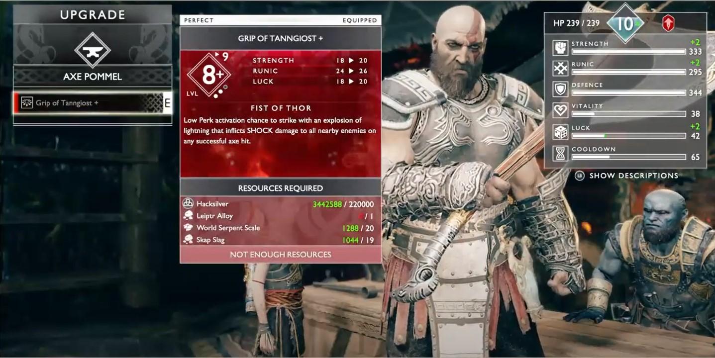 Best Axe Pommel God of War