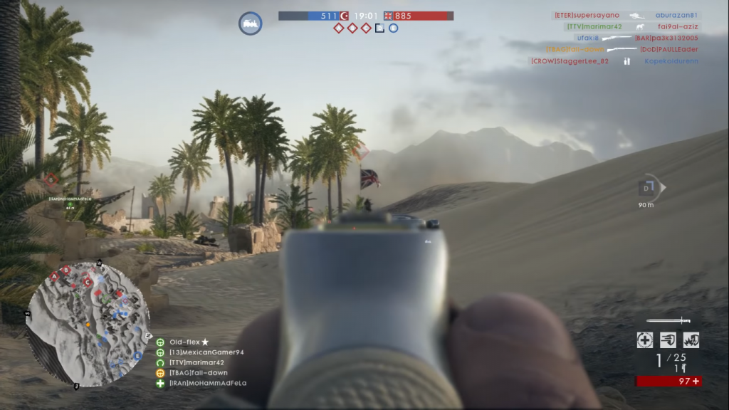 Martini Henry in game.
