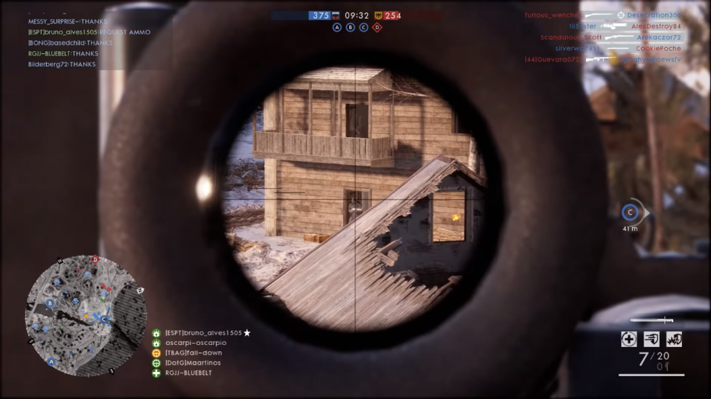 Gameplay with the SMLE MK III- the best rifle in Battlefield 1.