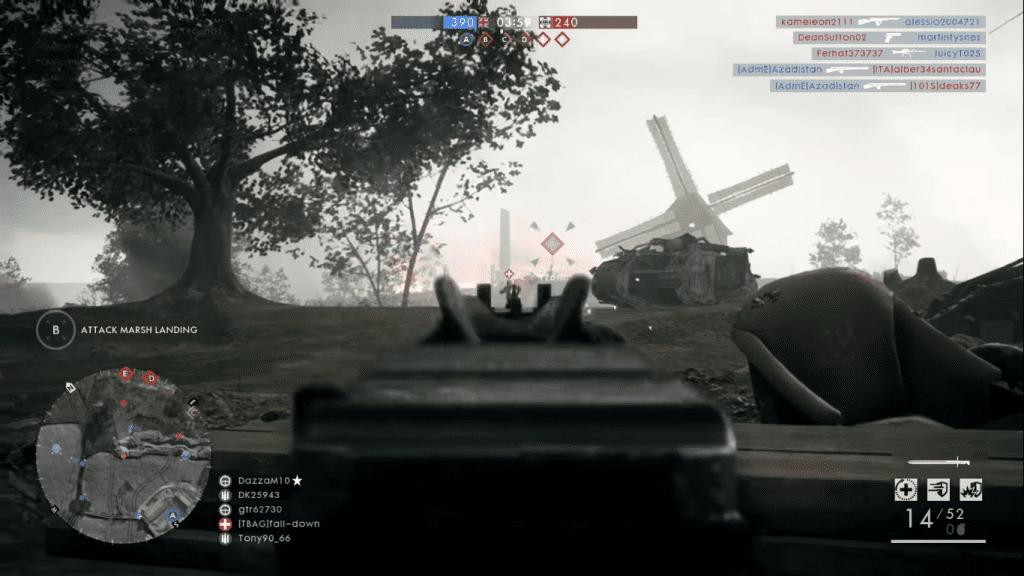 Selbstlader M1916 in game.