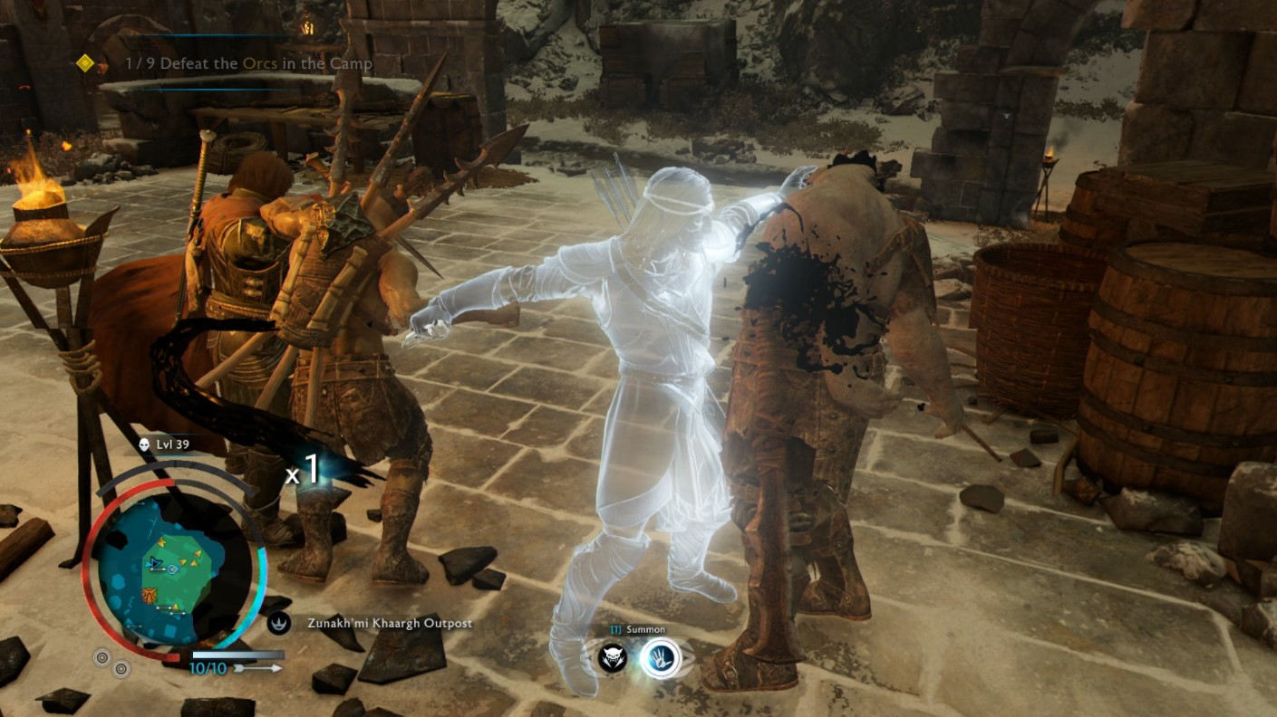 Shadow of War Best Skills